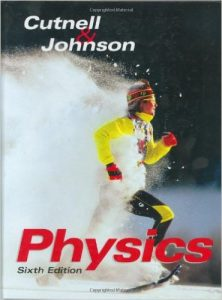 Cutnell and Johnson 6th edition physics textbook
